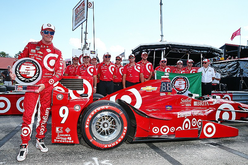 Dixon on Mid-Ohio pole; title contenders deep in the pack