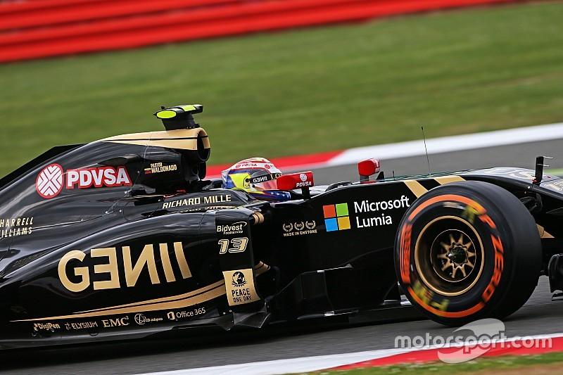 "Lotus diz ainda esperar ""grandes coisas"" de Maldonado em 2015"
