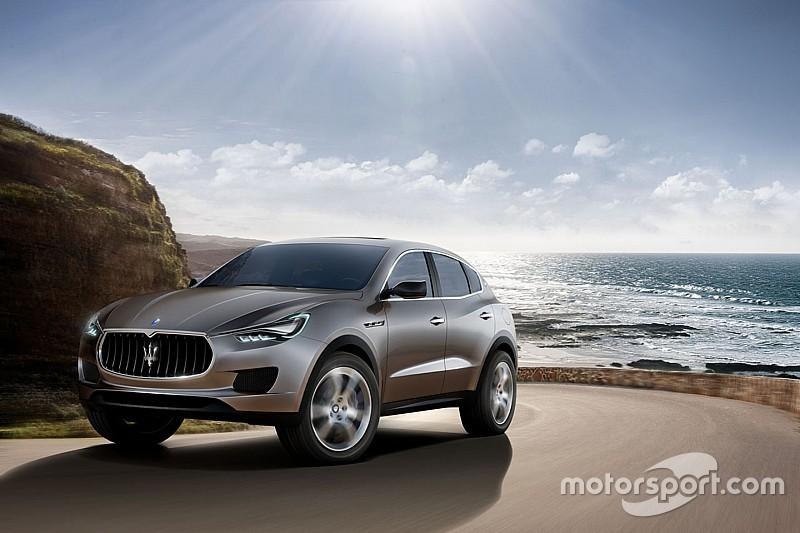 Maserati mise gros sur le SUV Levante