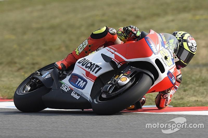 Iannone denied podium shot by engine glitch