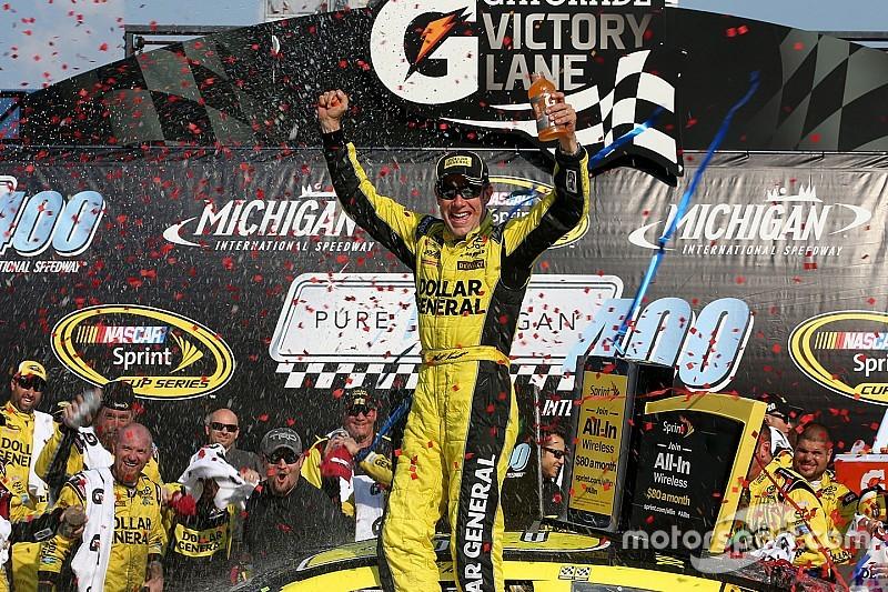 Matt Kenseth conquers Michigan