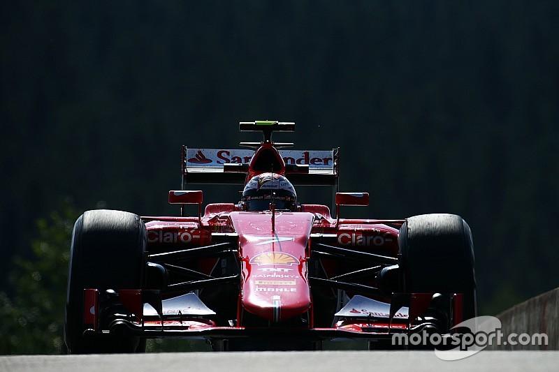 Kimi dice que sufrió de ampollas en los neumáticos delanteros