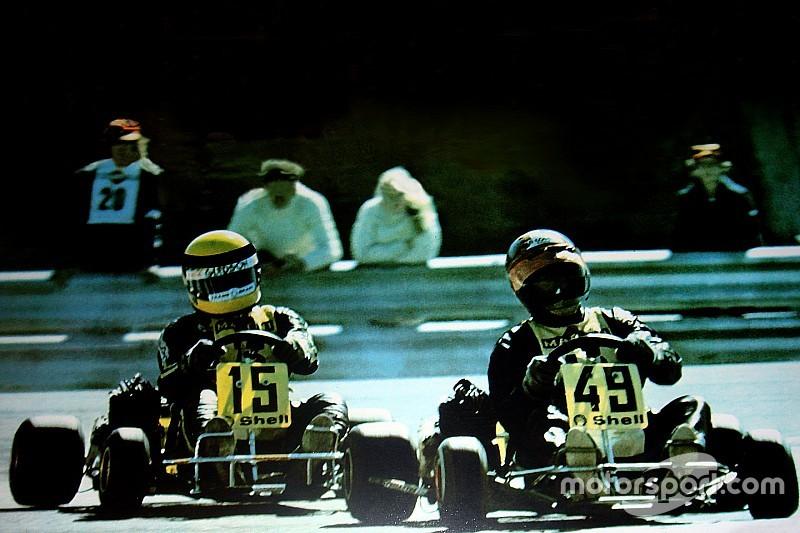 Le dernier kart piloté par Senna totalement restauré