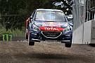 Les deux Peugeot-Hansen en tête à l'issue de la première journée