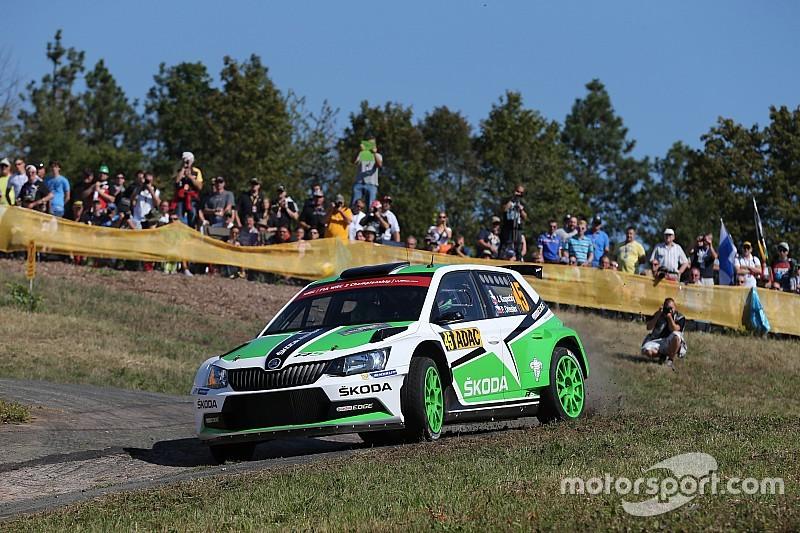 Zlín, Qualifica: Kopecký e Fabia R5 subito velocissimi