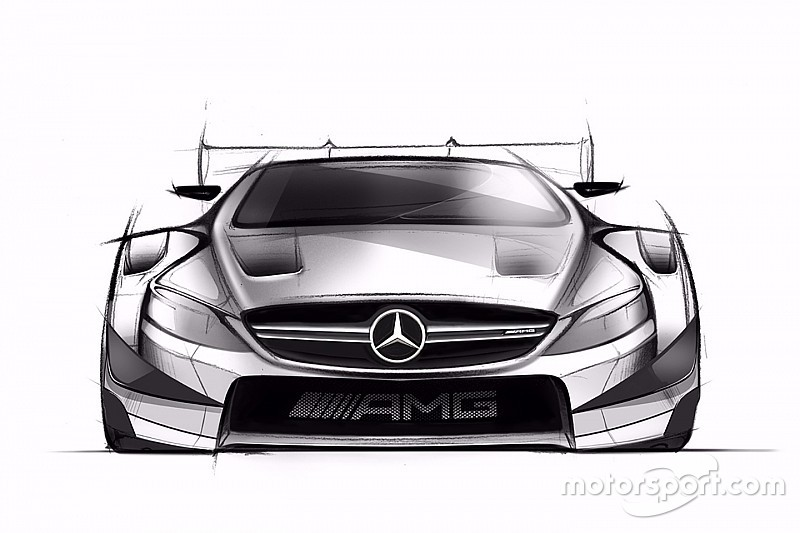2016 Dtm Mercedes Drawing