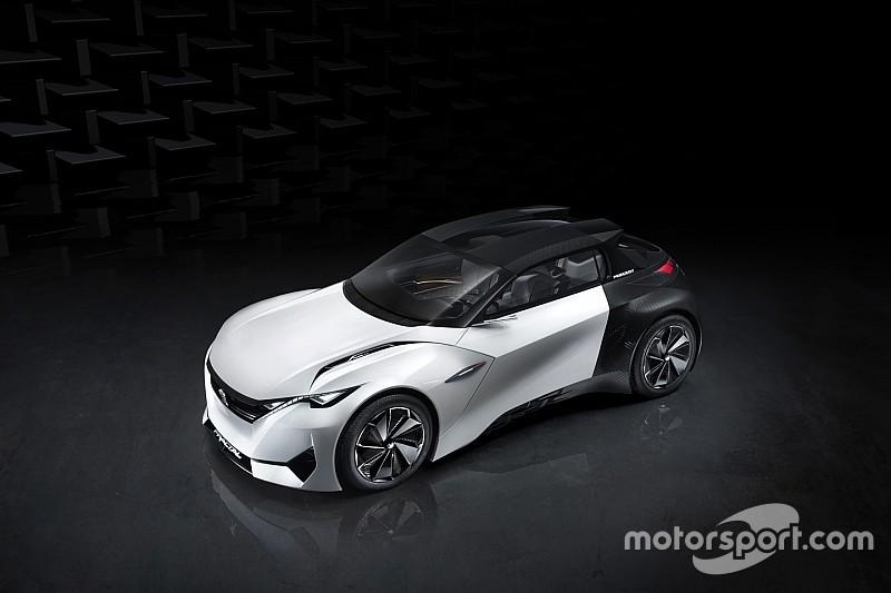 Peugeot dévoile Fractal, son concept coupé cabriolet 100% électrique