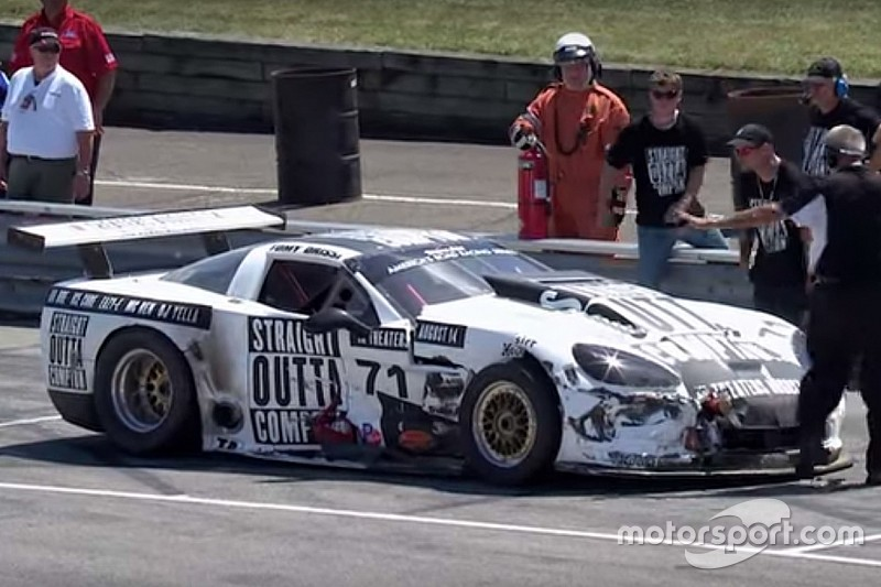 Tomy Drissi banned from Trans-Am for one full year
