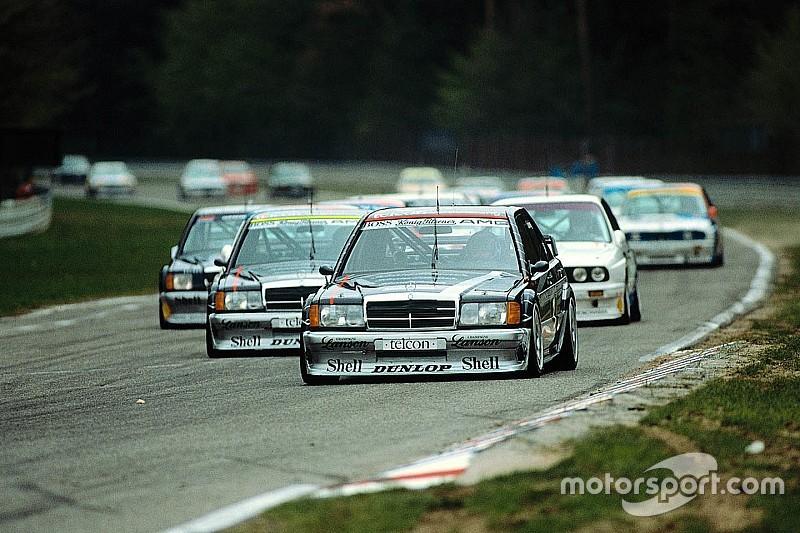 The evolution of Mercedes DTM cars since 1988