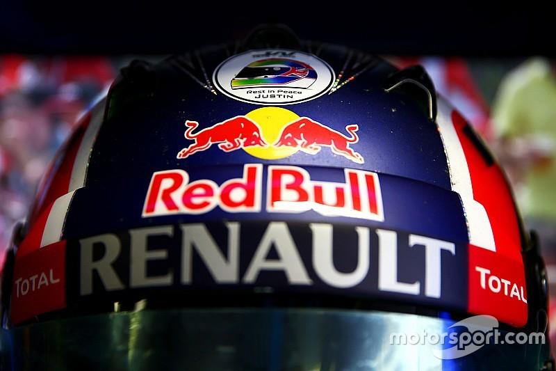 Ricciardo ricorda Wilson con un adesivo sul casco