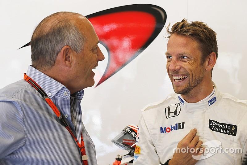 McLaren affiche son intention de conserver Button