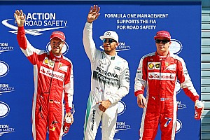 Fórmula 1 Crónica de Clasificación Pole position de Lewis Hamilton