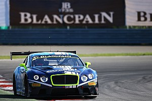 Blancpain Sprint Qualifying report Bentley Boys resist Series leaders in exciting Qualifying Race