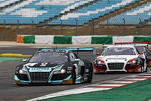 Blancpain Sprint Race report Frijns and Vanthoor put one hand on 2015 Blancpain Sprint Series title