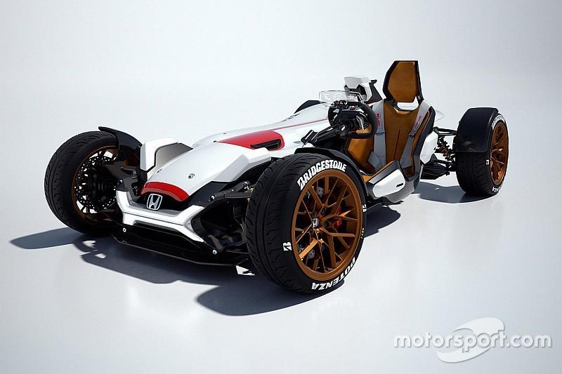 Project 2&4, la Honda monoposto col motore MotoGP