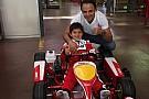 Filho de Felipe Massa comemora
