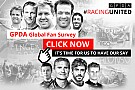 GPDA和Motorsport.com网站共同发起全球车迷调查