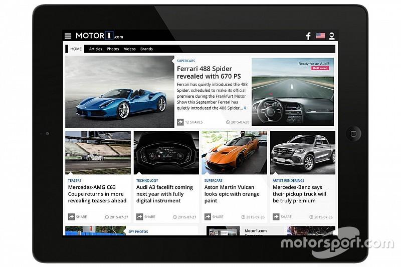Motorsport.com网站增设全球市场的汽车垂直平台