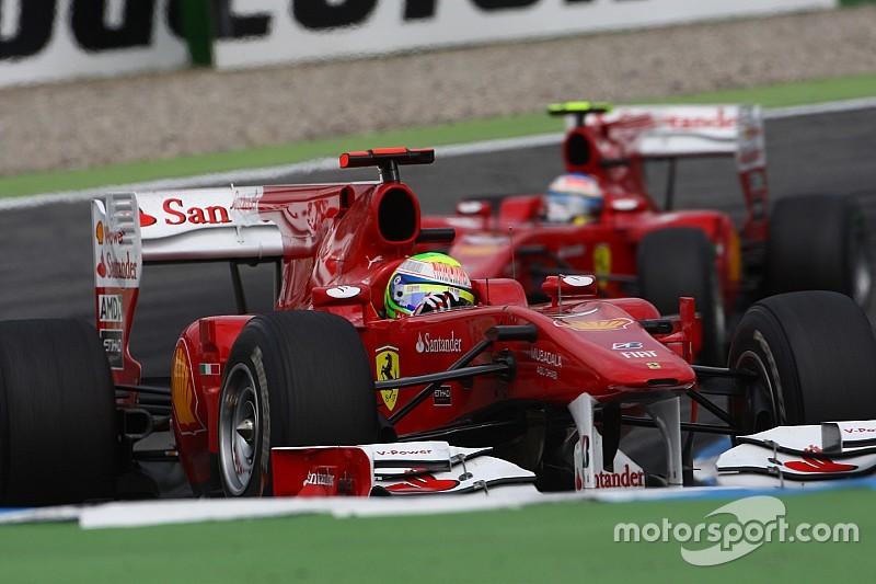 """Massa: """"deixar Alonso passar foi o pior momento da minha vida"""""""