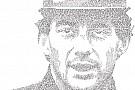Com frases sobre Senna, artista cria