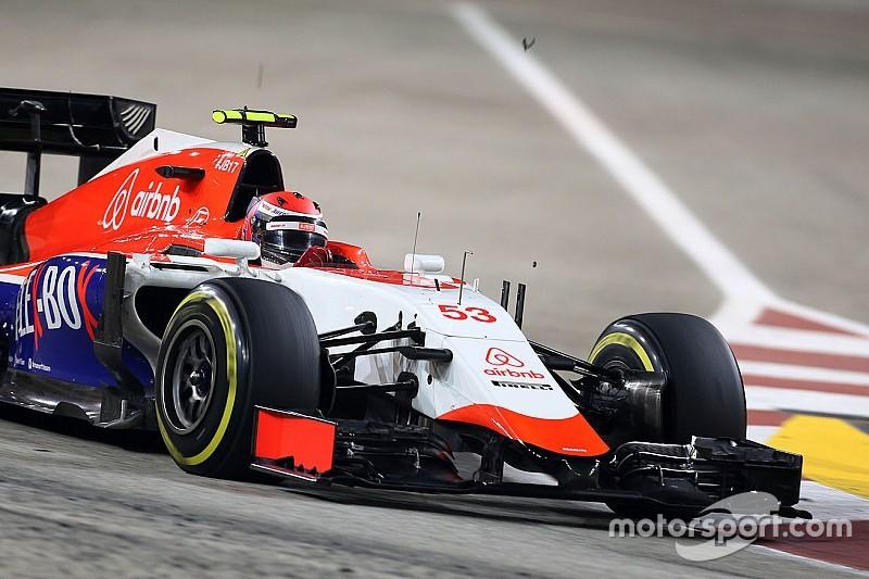Rossi contrarié par son crash, pénalités chez Manor