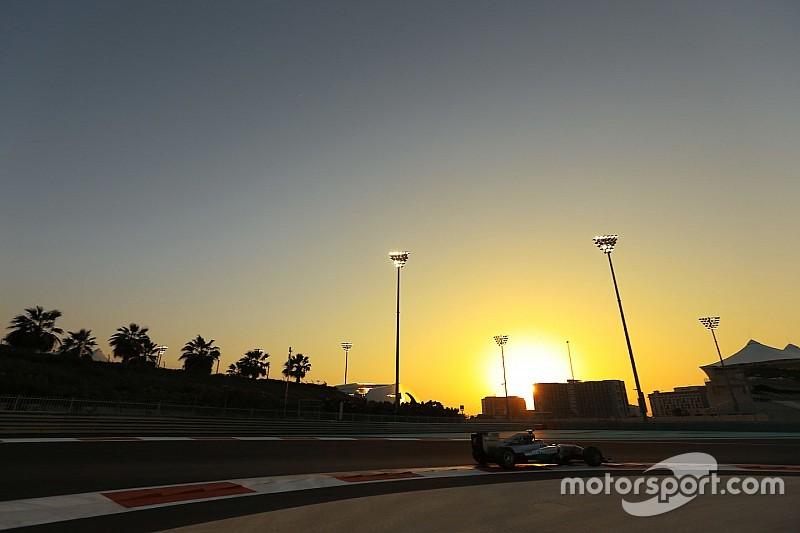 La F1 se encamina a una prueba de neumáticos en Abu Dhabi
