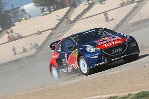 World Rallycross Résumé de course Timmy Hansen leader après les deux premières manches