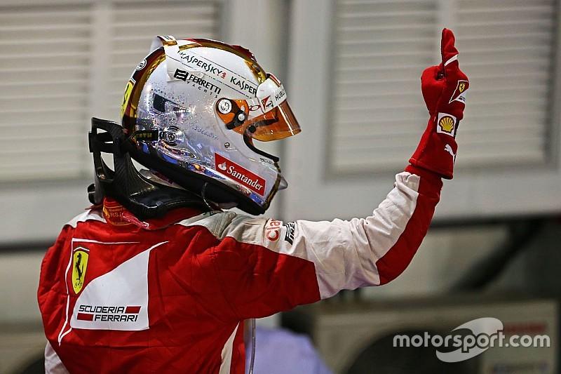 """فيتيل """"بطل"""" سباق سنغافورة دون مُنازع"""