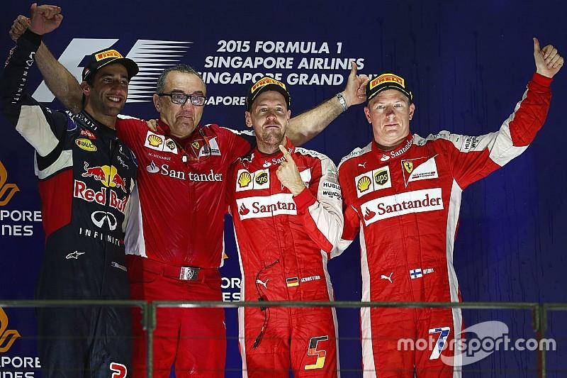 Pas de sanction pour Ferrari après l'incident du parc fermé