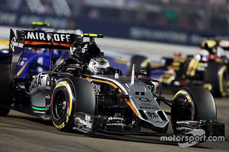 В Force India удивлены решением судей