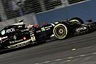 Maldonado, une affaire de continuité selon Lotus