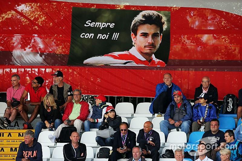 Pai de Bianchi diz que ainda não consegue ver corridas de F1