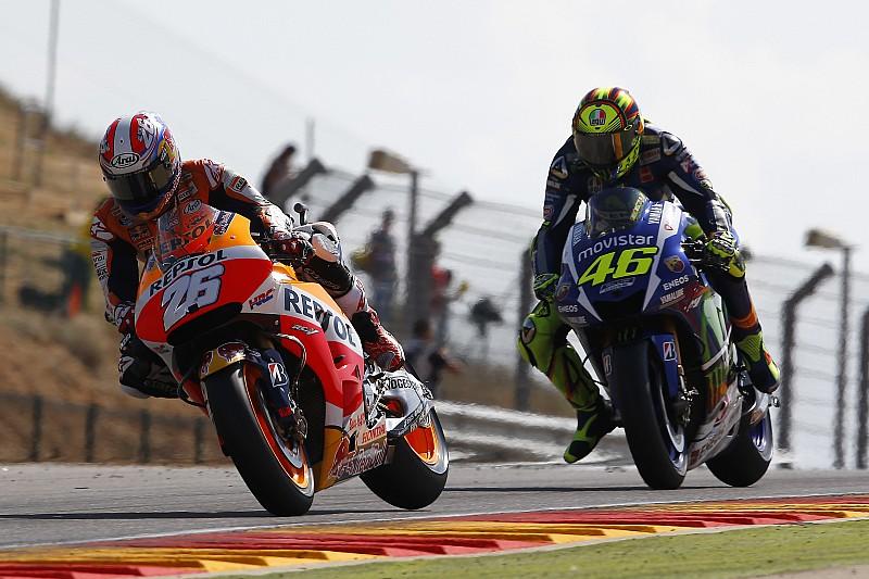 """Pedrosa - """"Je voyais bien que Rossi était prêt à se battre"""""""