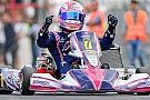 Kart: Karol Basz campione del mondo KF 2015