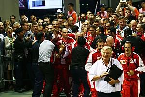 Formula 1 Breaking news Ferrari writes apology to FIA for Singapore behaviour