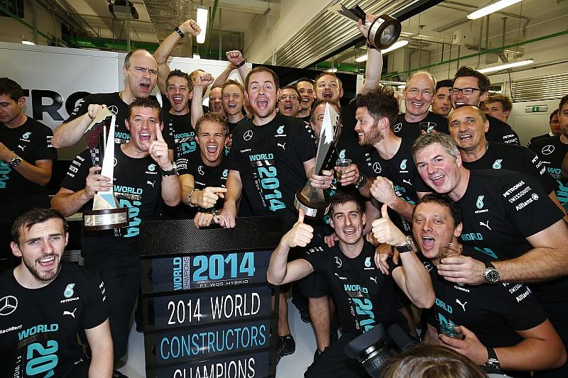 Mercedes lost £76.9m in winning 2014 F1 title