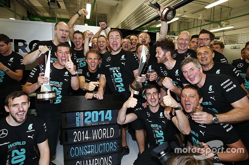 Mercedes-Team macht 2014 über 100 Millionen Euro Verlust