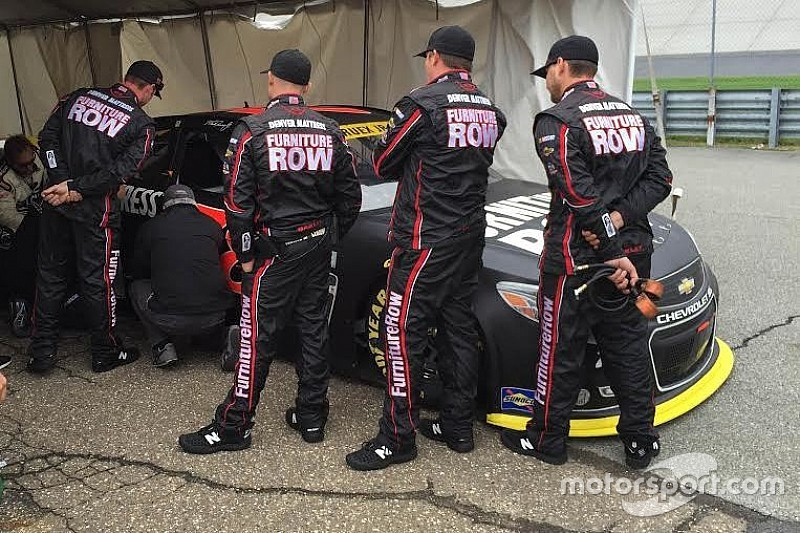 NASCAR sends Truex to the rear after apparent body manipulation