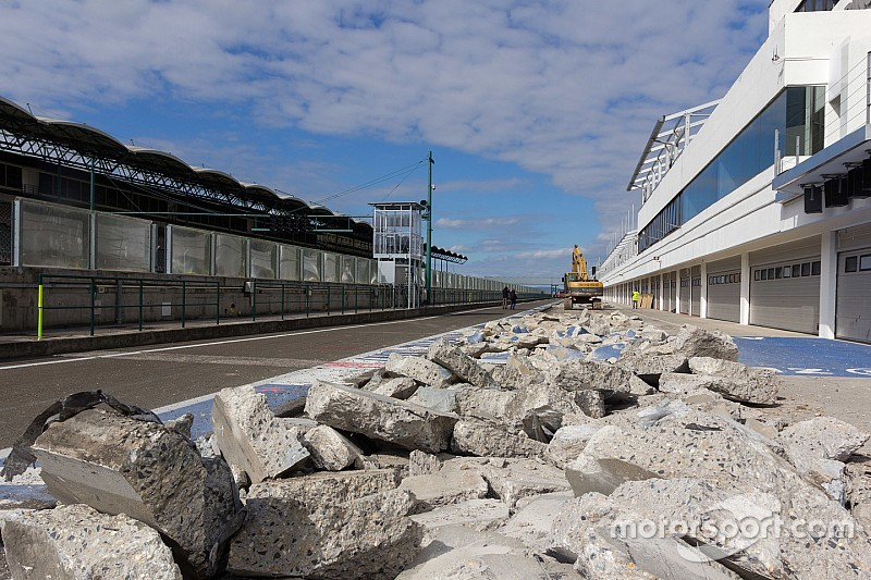 Hungary begins F1 circuit revamp