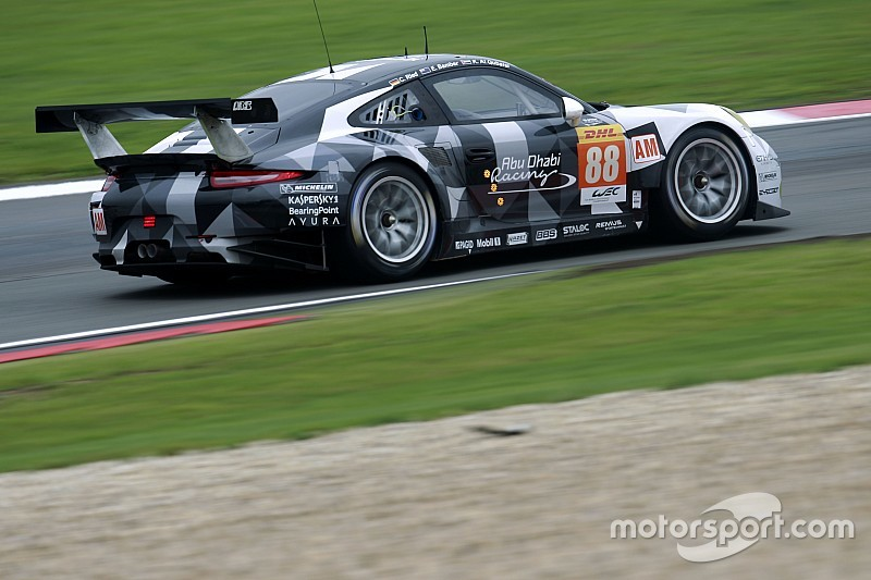 La Herberth Motorsport con una Porsche al Mugello