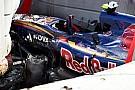 Crash Sainz: la scocca ha retto all'impatto tremendo!