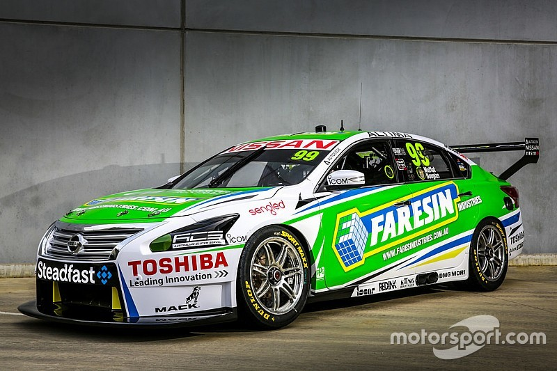 Nissan locks down sponsor for Moffat Altima