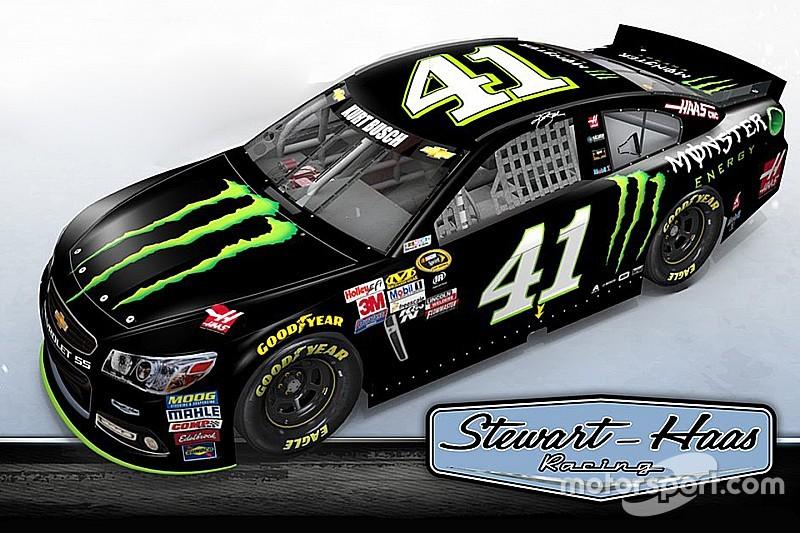 Bestätigt: Monster Energy als Autosponsor von Kurt Busch für 2016