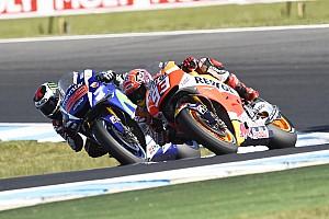 MotoGP Actualités Márquez se défend d'aider Lorenzo face à Rossi