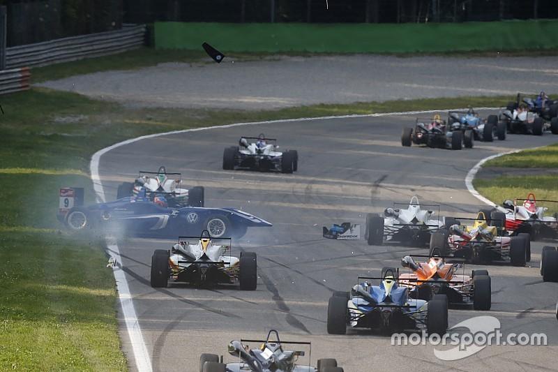 Leclerc - Les crashes en F3, un problème d'expérience