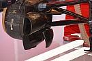 Ferrari: due alette verticali al cestello dei freni anteriore