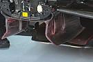 McLaren: turning vanes con e senza i soffiaggi