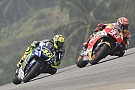 Rossi to start from back at Valencia, keeps points for third