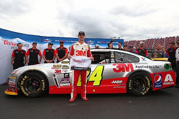 NASCAR Talladega: Jeff Gordon auf der Pole-Position