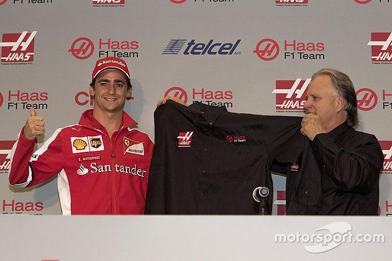 Haas F1 announces Gutierrez for 2016